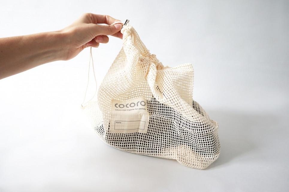 Bolsita de lavado 100% Algodón orgànico